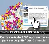 usa el mapa vivo para encontrar más información sobre Colombia