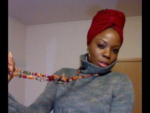 Turban inspired head wrap tutorial - YouTube