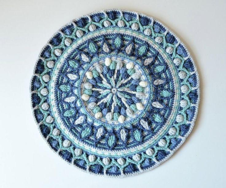 Dandelion Mandala Overlay Crochet