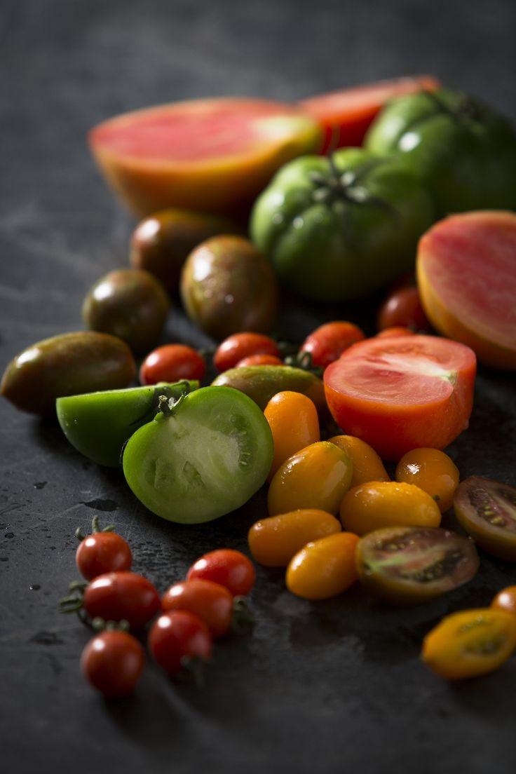 #Heirloom #tomatoes. We were just in awe of their beauty.