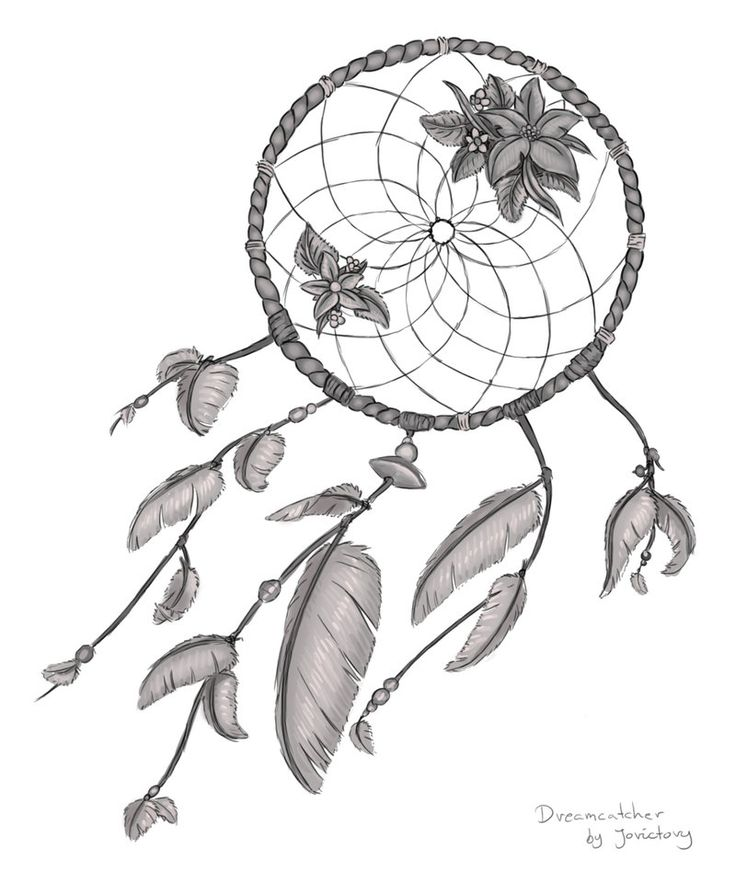 Dream Catcher Outline Amazing 131 Best Coloriage Attrapes Reves Images On Pinterest  Dream 2018