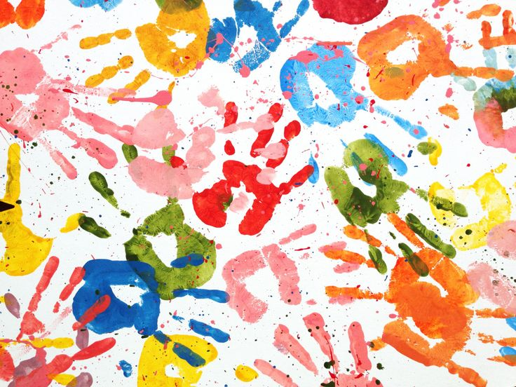 Kids Handprints puzzle in Puzzle of the Day jigsaw puzzles on TheJigsawPuzzles.com. Play full screen, enjoy Puzzle of the Day and thousands more.