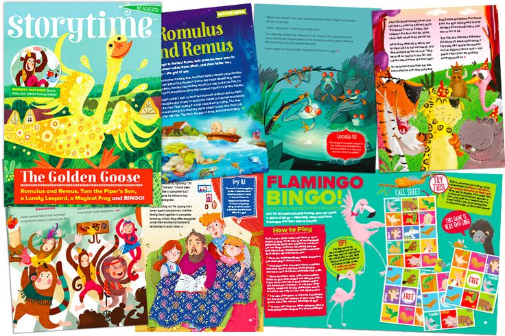 Some of the brilliant stories in our latest Storytime issue - plus a fun new game too! Find out more at STORYTIMEMAGAZINE.COM