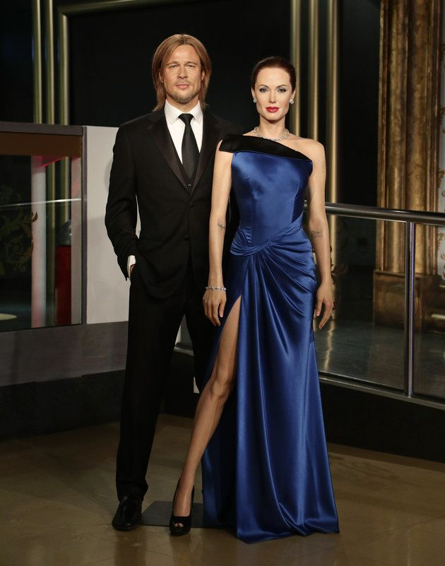 With The Brangelina Breakup News Abuzz Madame Tussauds Separate Their Wax Statues
