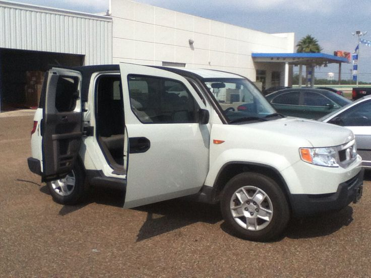 The 2010 Honda Element! I have one on the lot! Come see me at Gillman Honda in San Benito Texas!