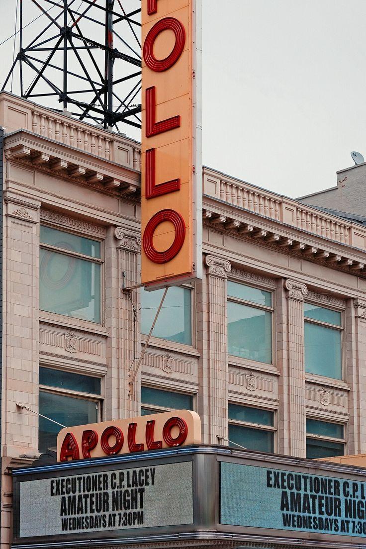 Apollo Theater W125th Street Harlem Manhattan NYC