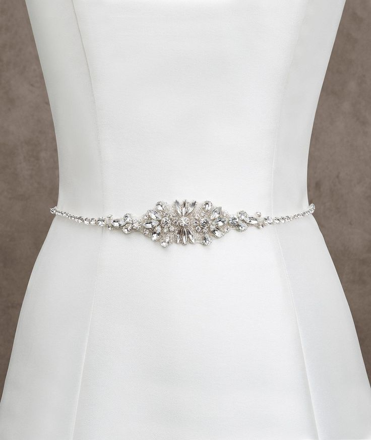 Online Cheap Fashionable Bridal Sashes And Belts Wedding Dress Sash For Wedding Beaded Rhinestone Crystal Wedding Belt Cheap By Faithfully | Dhgate.Com