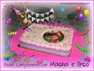 Il mondo di Stefy: Buon compleanno con Masha e Orso