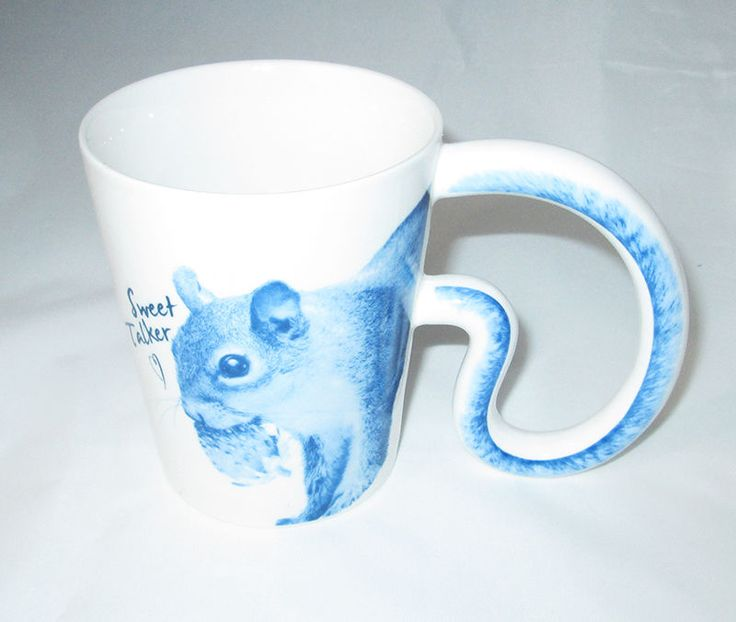 BLUE SQUIRREL Pop Art Sweet Talker Multiple Choice Mug New in Box | Collectibles, Decorative Collectibles, Mugs, Cups | eBay!
