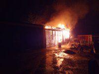 04.05.2012: Nächtlicher Brandeinsatz am Namenstag des Hl. Florian