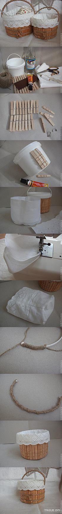 Súper.. Se puede usar para guardar muchísimas cosas cosas.. Ejemplo: los broches de la ropa! ;) #pin_it @mundodascasas See more Here: www.mundodascasas.com.br