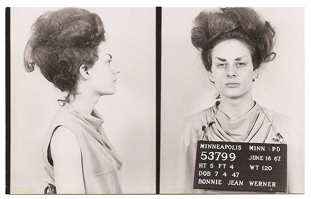 Badass with a bouffant