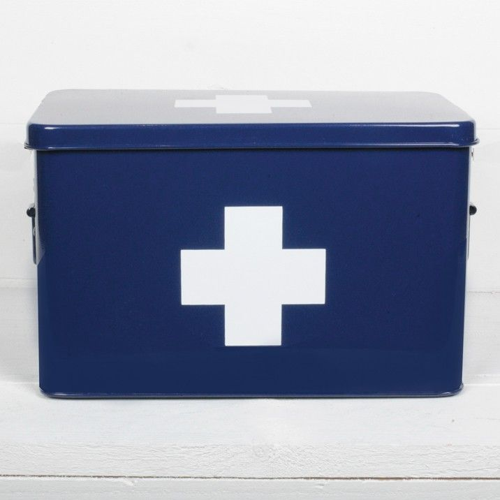 Corinne Medical Box  - Our powered coated metal Medical Box for safe keeping all your pharmaceutical needs.