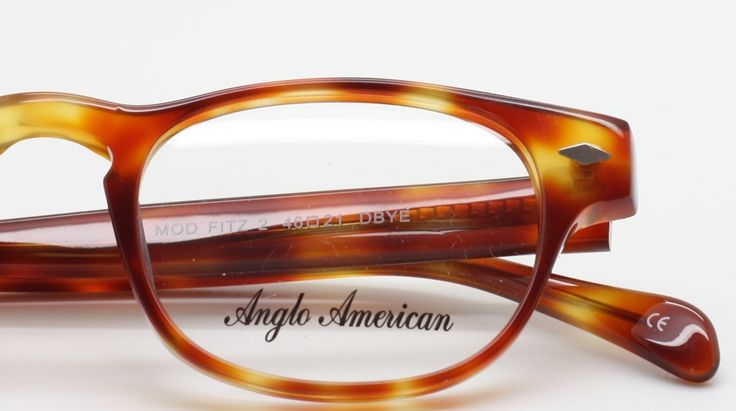 The Old Glasses Shop - Anglo American Eyewear FITZ 2 Turtle Acrylic, £129.00 (http://www.theoldglassesshop.co.uk/anglo-american-eyewear-fitz-2-turtle-acrylic/)