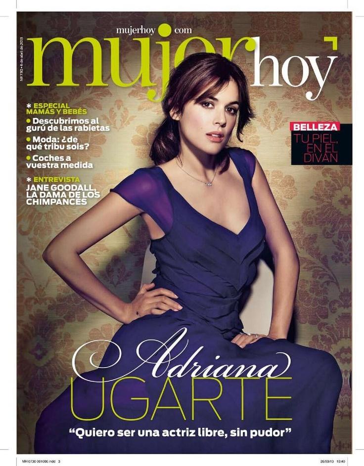 Adriana Ugarte: Adriana Ugart, April, Mi Futura, 2013, Belleza Española, Future Home, Estilo Inspirador, Número 730
