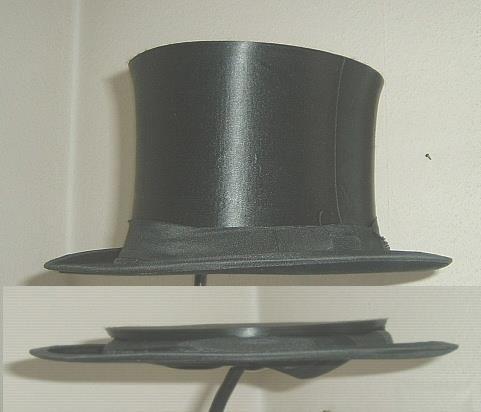 Цилиндр шляпа как сделать