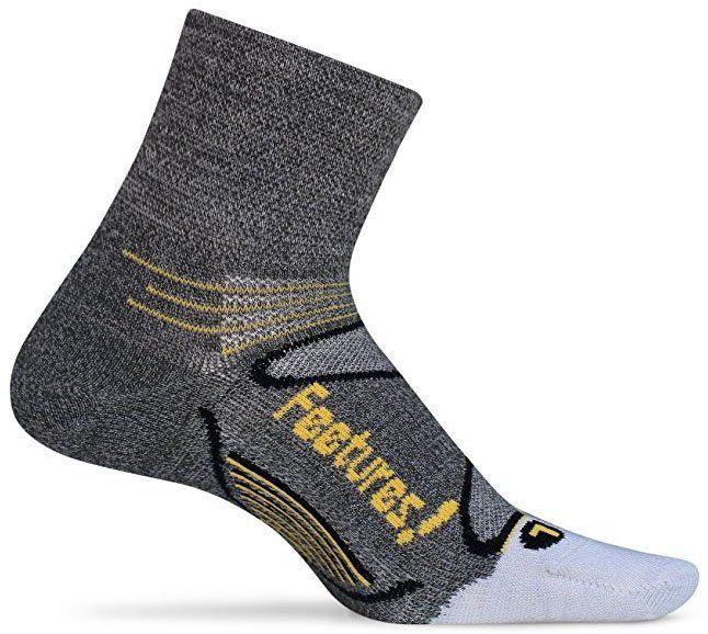 Feetures Elite Merino+ Ultra Light Quarter socks