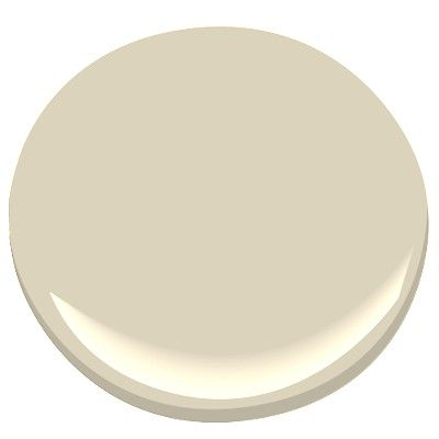 Benjamin Moore's Manchester Tan for a feature wall in the kitchen