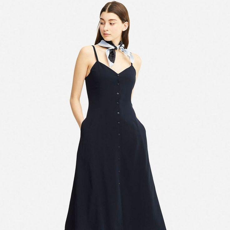 Este es el vestido de Inès de la Fressange para Uniqlo que te vas a querer comprar en 4 colores