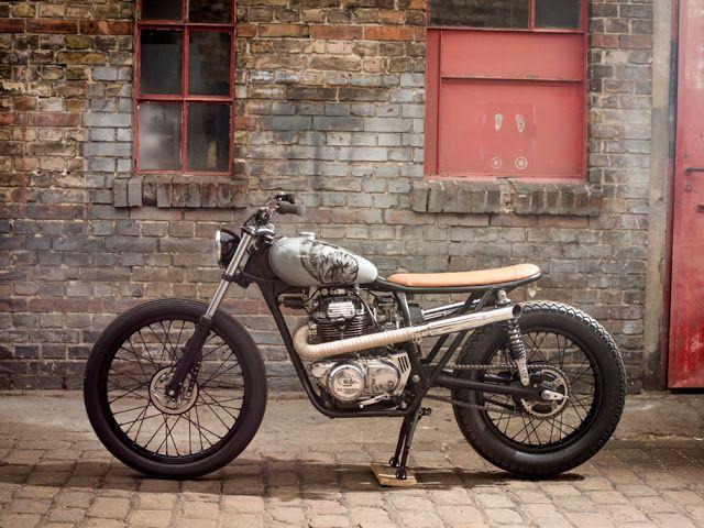 Cafe Racer Pasión — Honda CB250 Brat Style by Dead City Cycles |...