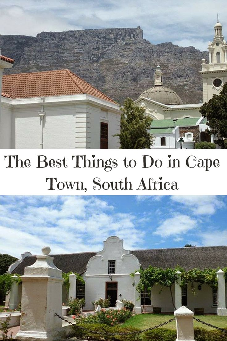 The best wineries, museums, parks and botanical gardens in Cape Town, South Africa. Click here to find out the best things to do!