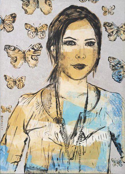 David Bromley: Louise Olsen :: Archibald Prize 2008