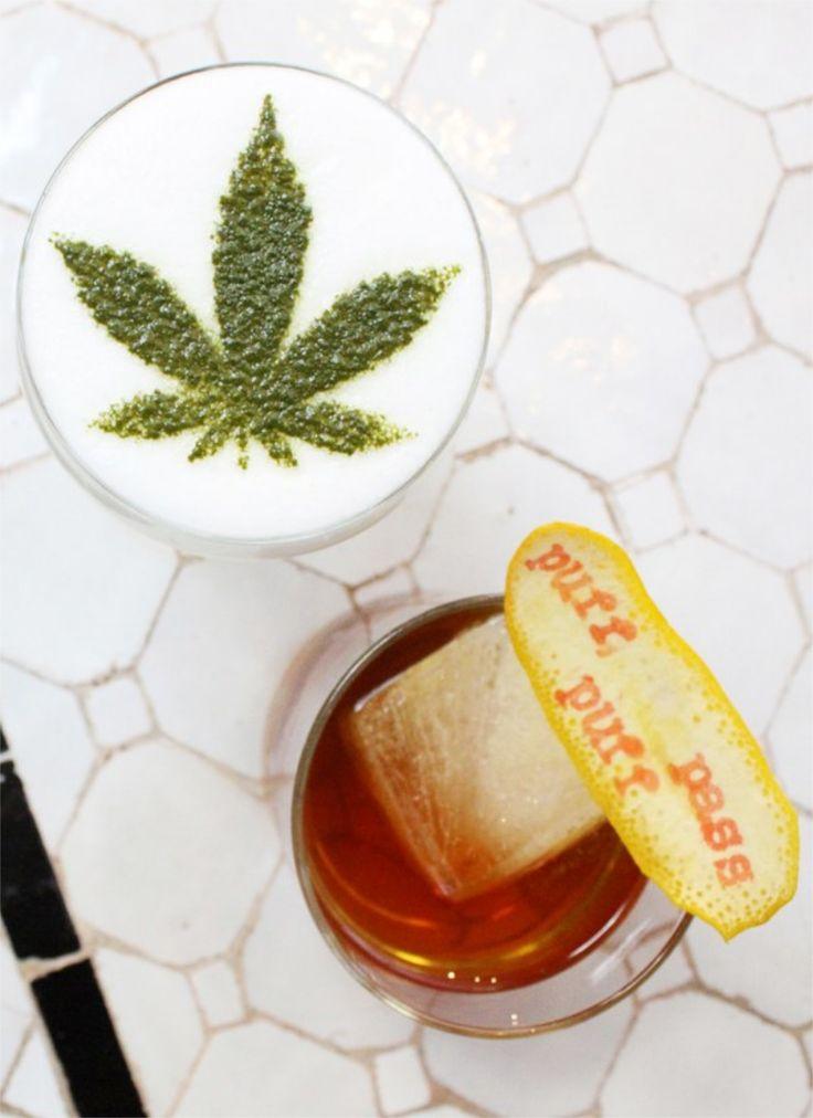 Lecznicze właściwości marihuany są coraz szerzej omawiane przez lekarzy, a kolejne kraje decydują się na legalizację tej substancji. Idąc tym tropem, restauracja Gracias Madre postanowiła użyć jej przy tworzeniu... drinków. http://exumag.com/gracias-madre-bar-marihuana/ #alkohol #bar #cannabis #Drink #Kalifornia #koktajl #LosAngeles #marihuana  #NewportBeach #StanyZjednoczone #WestHollywood