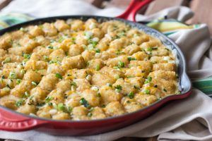 Texas Tater Tot Casserole hits all your comfort food cravings. Get the recipe.