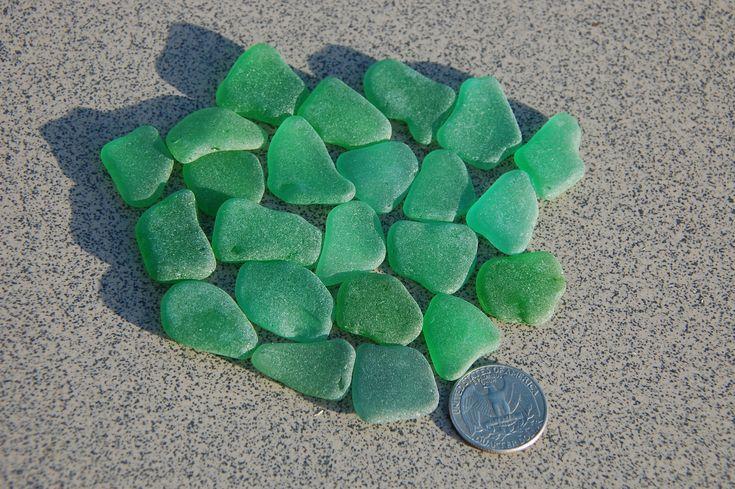 Excited to share the latest addition to my #etsy shop: 23 green sea glass/ natural sea glass/ sea glass for sale/ bulk beach glass/ zeeglas/ zee glas/ verre de mer/ meerglas/ cristal de mar #supplies #seaglass #beachcomber #seaglassart