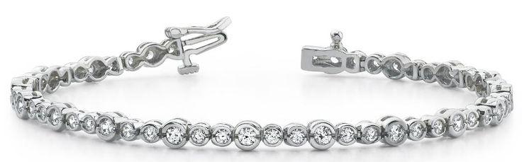 Diamantarmband 3.00 Karat aus 585er/750er Gelb- oder Weißgold  #diamantarmband #diamonds #diamante #diamanten #gold #schmuck #diamantschmuck #juwelier #abt #dortmund #brillant #armband #armschmuck #hochzeit