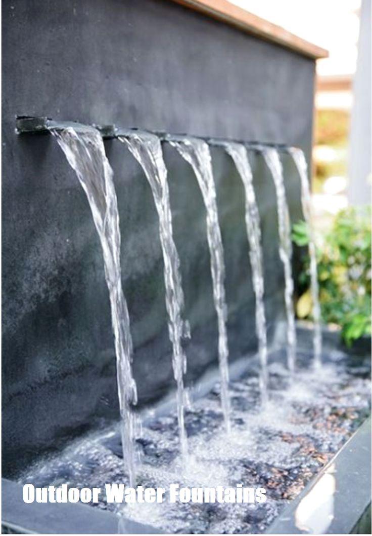 37+ Diy water fountain wall inspirations