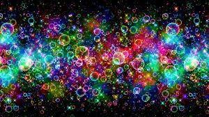 Colourful bubbless