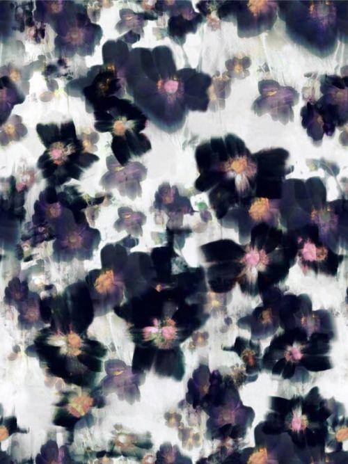 : Summer 2012, Floral Patterns, Floral Prints, Heavy Petals, Paul Smith, Flower Art, Color, Black Flower, Spring Summer