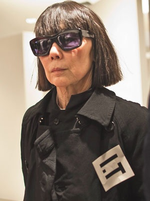 Rei Kawakubo: a very interesting person in the fashion world.    From Refinery 29: Publicity-Shy Rei Kawakubo Speaks, Says She Never Intends To Make Clothes