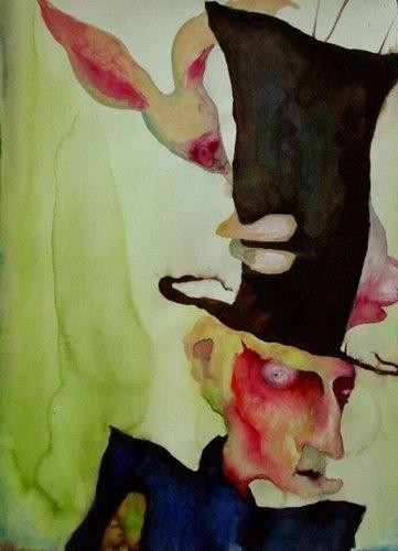 Marilyn Manson Art Mad Hatter
