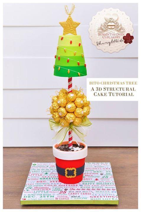 Best 25 gravity defying cake ideas on pinterest creative cake decorating lemon spongecake - Gravity cake noel ...