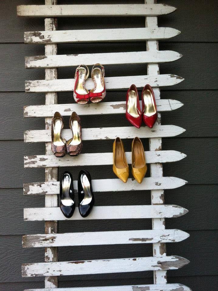 Shoe Rack picot fence!!