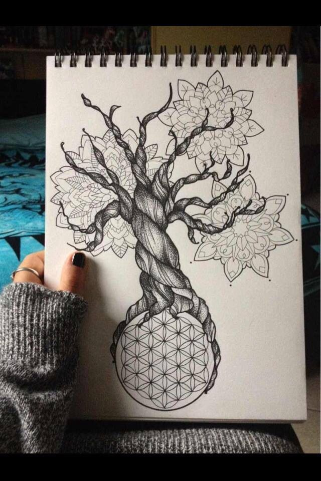 BMTH Sempiternal Tree Tattoo Design