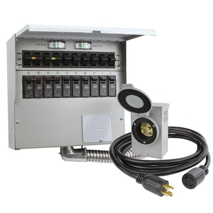 Pin By James Noel On Rv Power In 2020 Generator Transfer Switch Transfer Switch Power Inlets