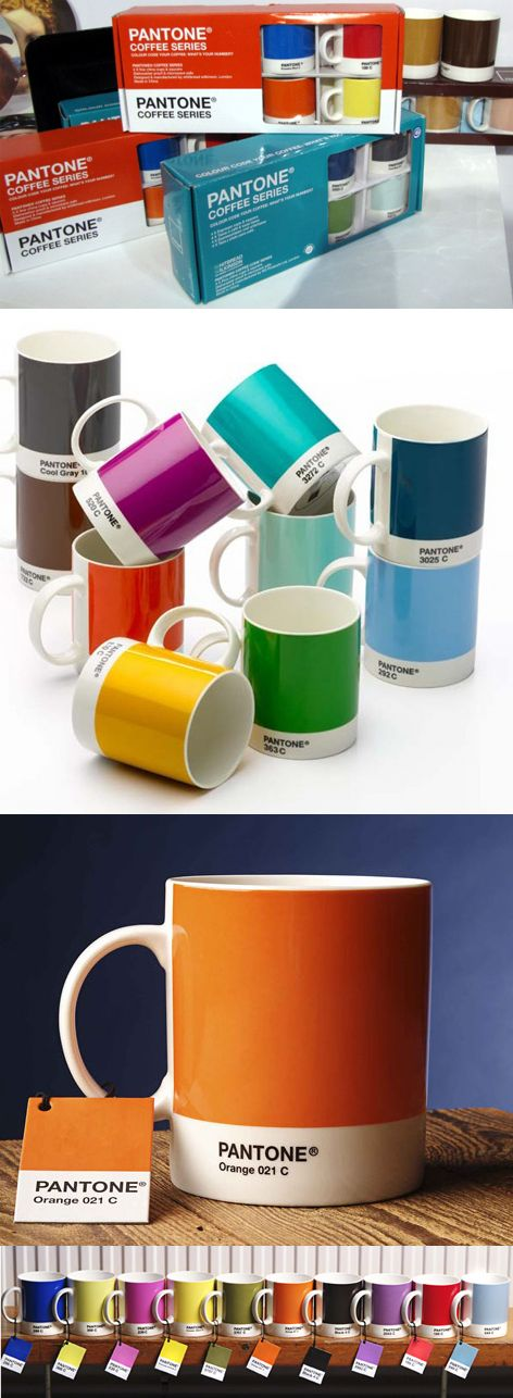 Pantone mugs. One of every color please.