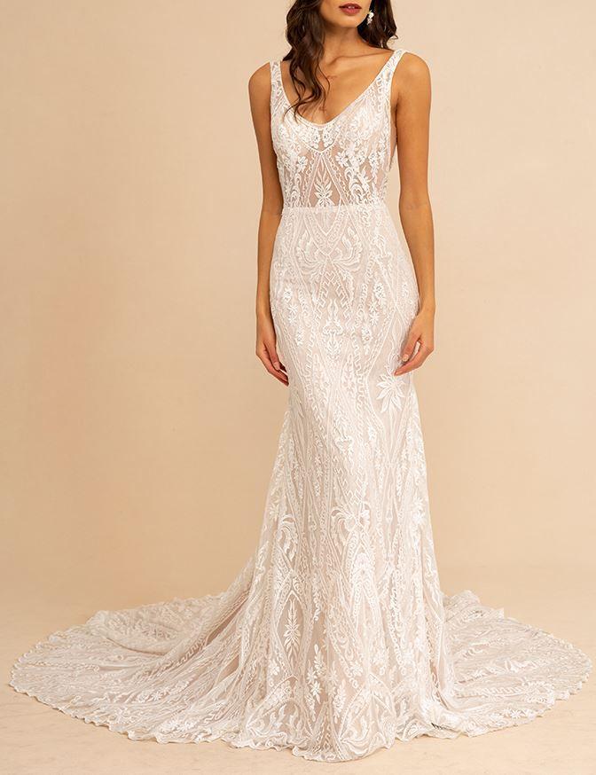 Tara Lauren Lucia Wedding Gown At Lovely Bride Wedding Dress Accessories Wedding Dresses Boho Wedding Dress