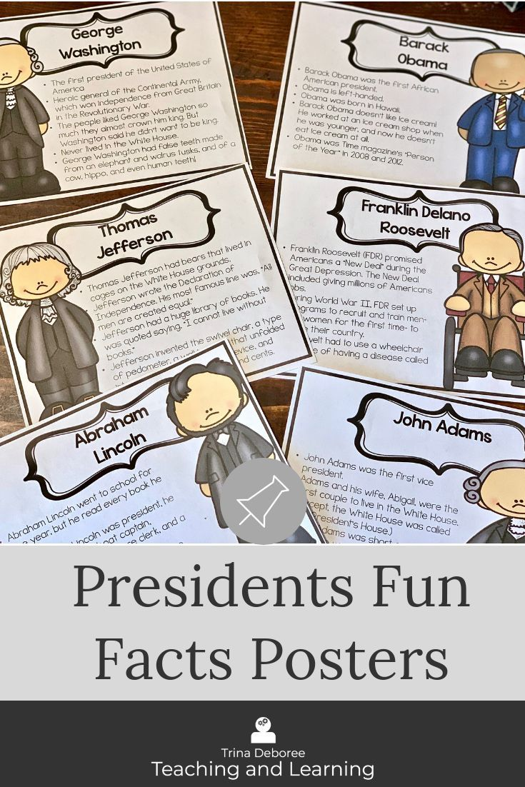 President S Day Activities And Bulletin Board Ideas Are Ready To Go With These Fu Third Grade Homeschool Third Grade Social Studies Third Grade Classroom Setup