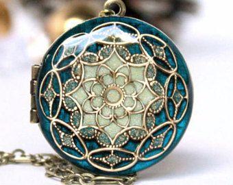 Cadeau d'anniversaire pour femme / cadeau pour elle / Aqua bleu Collier / Collier de femme anniversaire cadeau pour petite amie / / Custom bijoux / mariages