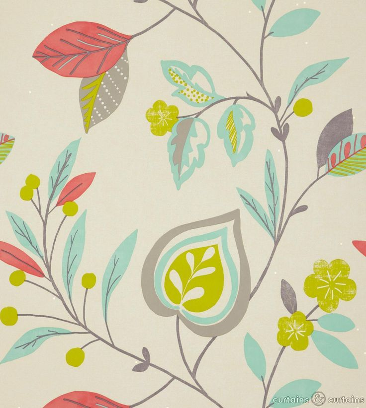 Lovely floral #wallpaper for a bold and modern look