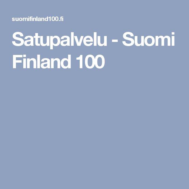 Satupalvelu - Suomi Finland 100