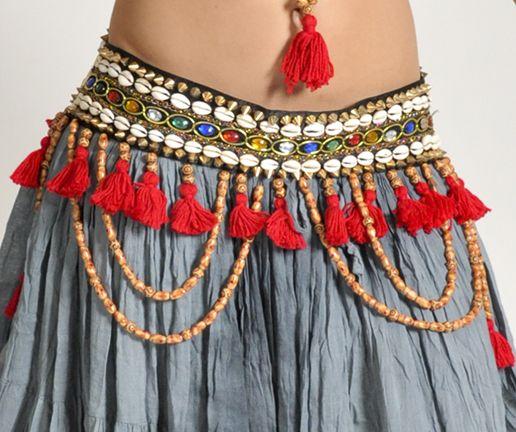 Tribal Gem Belt 2950b Belly Dancing Pinterest Kost M