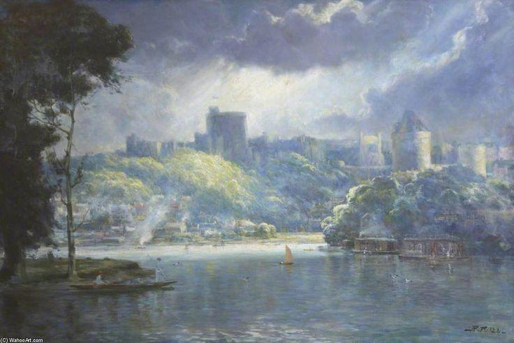 Château de Windsor de Robert Fowler (1853-1926, United Kingdom)