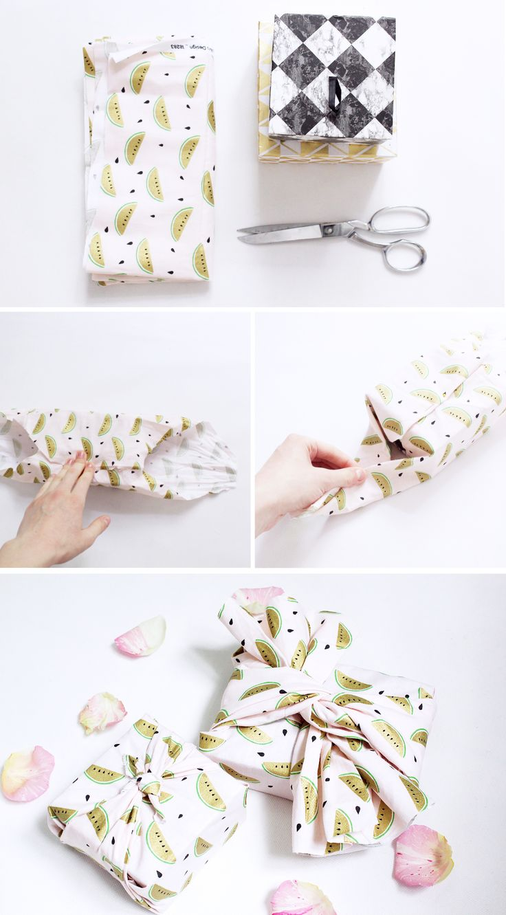 DIY Tutorial: So macht ihr Furoshiki! Geschenke Kreativ Verpacken im japanischen Stil.