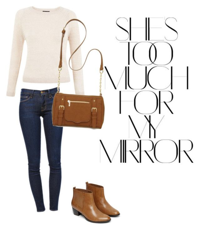 """Untitled #17"" by suvisfi on Polyvore featuring Rika, Frame Denim, New Directions and Warehouse"