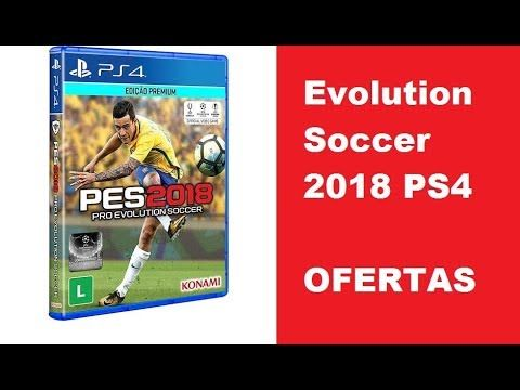 AMERICANAS Game Pro Evolution Soccer 2018 PS4 OFERTAS  Game Pro Evolution Soccer 2018 - PS4 Onde Nascem As Lendas, a frase que sintetiza o retorno do PES, com novos recursos, modos e uma experiência de jogabilidade jamais vista em games de futebol.